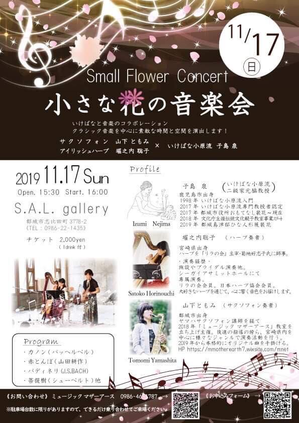 小さな花の音楽会2019,11,17