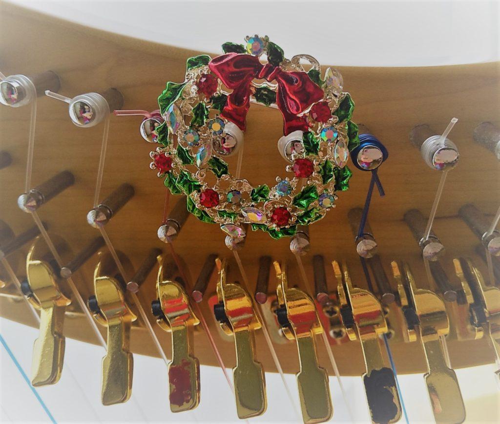 クリスマスとハープ