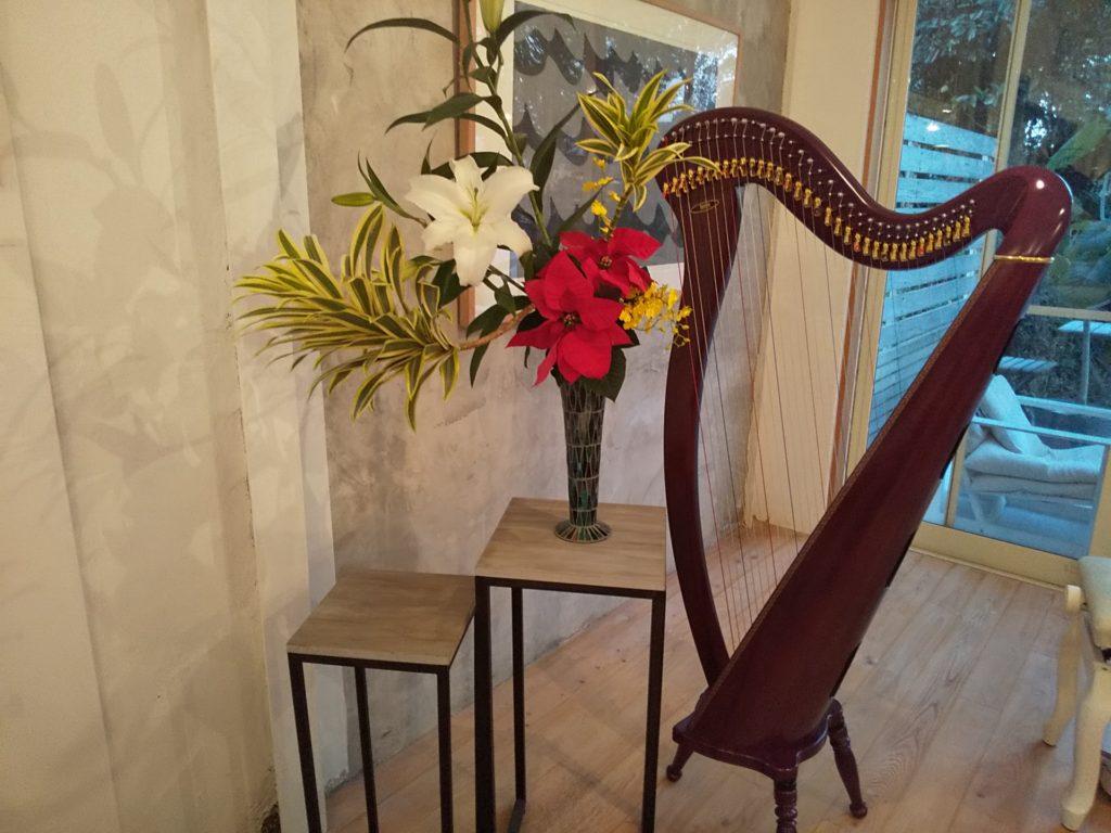 小さな花の音楽会harp