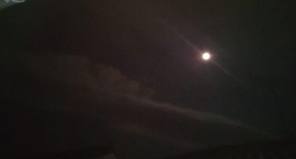 お月様と龍