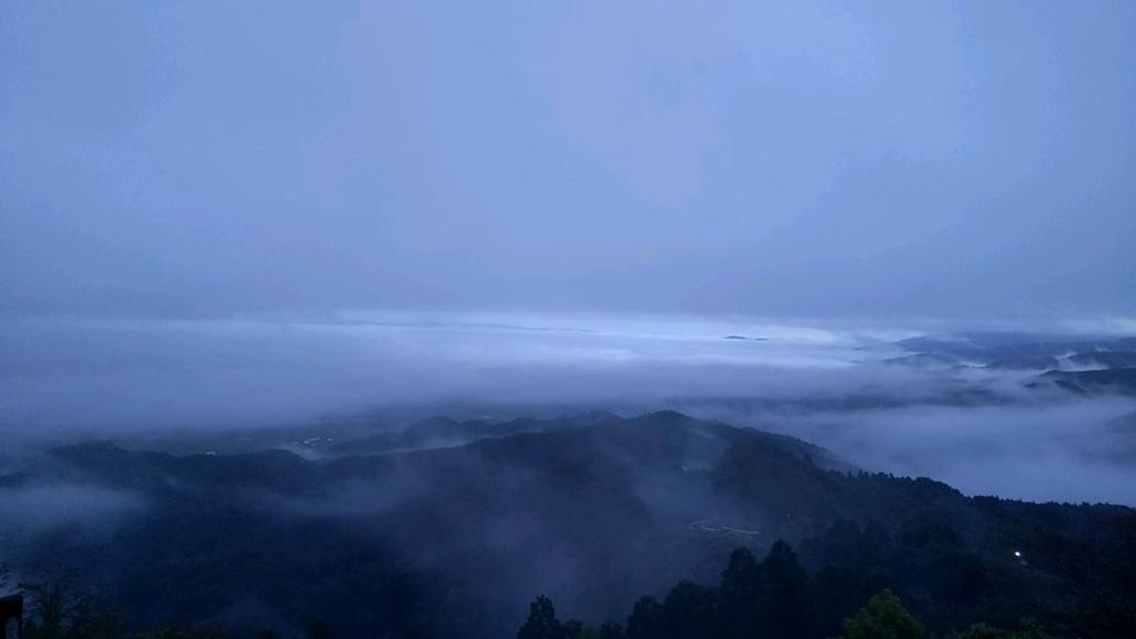 金御岳朝霧
